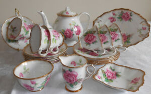 BERKELEY ROSE FINE CHINA