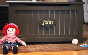 Handmade Solid Wood Engraved Toy Chests- SHOP LOCAL THIS YEAR London Ontario image 4