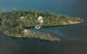 Private Island on Lake Superior