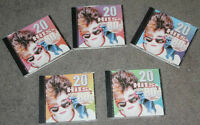 20 HITS OF THE 80's cd set