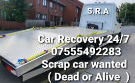 24/7 Car Recovery - Scrap Car BUY Read description !