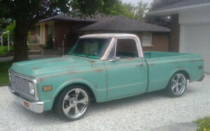 1972 C10 Pickup Shortbed for Sale - Excellent Ride - $35,000 USD