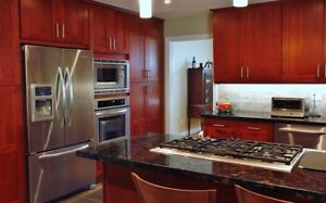 Light Cherry Wood Kitchen Cabinet/Cabinets on Sale!