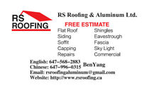 RE-ROOFING / ROOF REPAIR - 6479960315!!!
