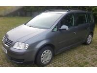 2005MY SEVolkswagen Touran 1.9TDI PD ( 7st )LONG MOT 06/18 11 SERVICES STAMPS