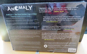 ANOMALY SIGNED LIMITED EDITION HARD COVER BOOK London Ontario image 2