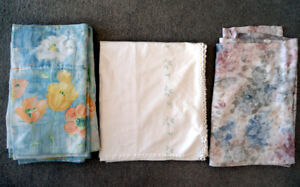 Assorted Curtains ($30 FOR ALL 11 CURTAINS)