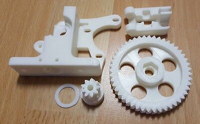 Greg Wade Reloaded Extruder 3d Printer Plastic J-head Pla 1.75 3mm Reprap White