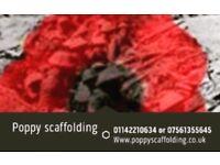 Poppy scaffolding