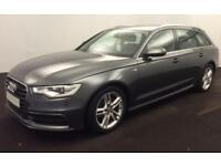 2014 GREY AUDI A6 AVANT 3.0 TDI S LINE DIESEL AUTO ESTATE CAR FINANCE FROM 58 PW