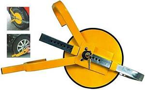 Heavy Duty Car Auto Safety Wheel Clamp Trailer Campervan Lock Beenleigh Logan Area Preview