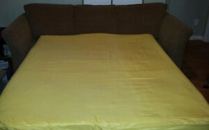 "SOFA BED. SIMMONS QUEEN SIZE 60"" BEAUTYREST MATTRESS. $300.00 St. John's Newfoundland image 2"