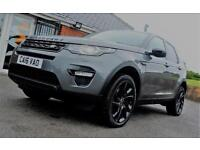 2016 Land Rover Discovery Sport 2.0 TD4 HSE Black Station Wagon 4x4 5dr