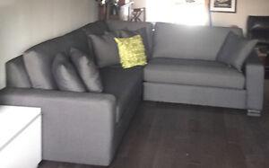 Decorest Sectional Couch - Mint Condition