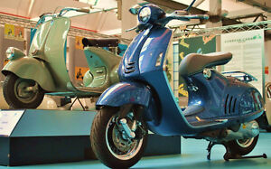 Mobile Vespa and Scooter Repairs and servicing