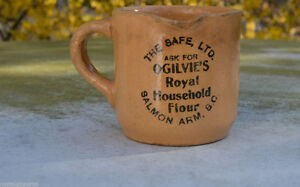 Wanted Medalta Ogilvie's Flour Mugs & Pitcher