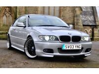 BMW 330CI E46 M SPORT (MANUAL) SAT NAV, MANUAL