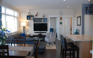 Bright and Quiet Top Floor, 2br, 2ba Penthouse with 425sqf deck