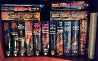 The Wheel of Time Series. Complete Hardcover Set. 15 Books