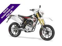 2018 RIEJU MARATHON 125 PRO SM EURO 4 ***WHITE RACING/BLACK SERIES***