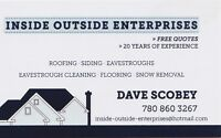 Locally owned and operated ROOFING COMPANY. We've cut out the MI