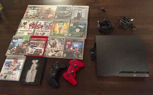 Playstation 3, controllers and games