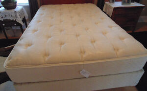 Double Simmons Natural Slumber Luxury Mattress Set