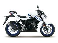 NEW 2020 SUZUKI GSX-S 125 GSX S 125 PEARL BRILLIANT WHITE ABS - ZERO MILES!