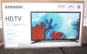 "-SAMSUNG LED TV-32"" SMART WIFI-INBOX Warranty-$219.99-NO TAX"