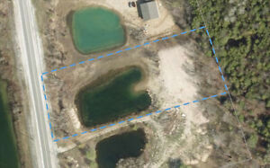 Vacant Lot with Pond on Grey County Road 112
