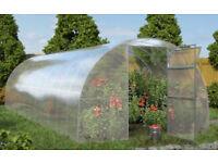 AG Titan polycarbonate greenhouse/polytunnel