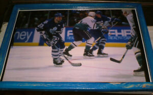 4 different pics -  Toronto Maple Leaf players from the past