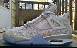 Men's Nike Air Jordan 4 Laser Size 8-8.5 Windsor Region Ontario image 5