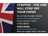 Paper stripper