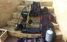 (reduced) scuba diving set Australind Harvey Area Preview