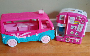 Shopkins Van & Fridge