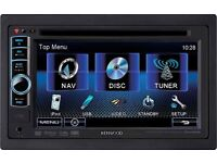 Kenwood double din DVDs player