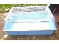 VARIOUS INDOOR SMALL RABBIT GUINEA PIG, HAMSTER CAGES FROM £3