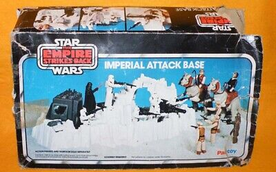 VINTAGE 1980 PALITOY STAR WARS THE EMPIRE STRIKES BACK IMPERIAL ATTACK BASE RARE