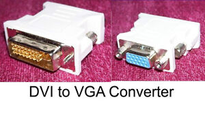 SO YA WANNA BUY A COMPUTER...dvi to vga adapters NEW