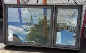 NEW! Jeld-Wen vinyl window 72W x 40H; SABLE colour