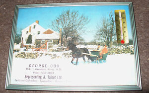 THERMOMETER GEORGE COX ANNAPOLIS ROYAL A.TALBOT LTD