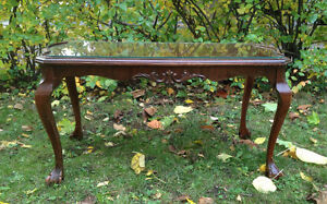 Antique Chippendale Coffee Table by Gibbard