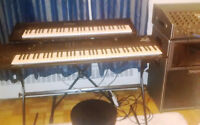 Professional keyboard set-up for gigging or recording