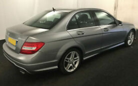 2012 MERCEDES C220 CDI AMG SPORT GOOD / BAD CREDIT CAR FINANCE FROM 59 P/WK