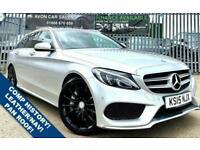 2015 Mercedes-Benz C-CLASS 2.1 C250 BLUETEC AMG LINE PREMIUM 5d 204 BHP AUTOMATI