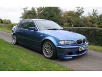 2004 BMW 320d M Sport Individual Estoril Blue 6 speed Coilovers Remapped
