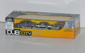 Dub City '87 Buick Grand National 3-Pack 1:64 Scale Diecast