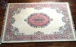 PERFECT Thick & Rich Oriental Wool Rug 5 x 8 SEE VIDEO