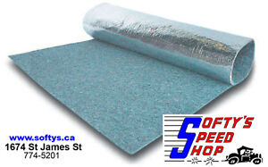 Thermal - Acoustic - Heat Barrier Auto Insulation 4' x 6' Sheets